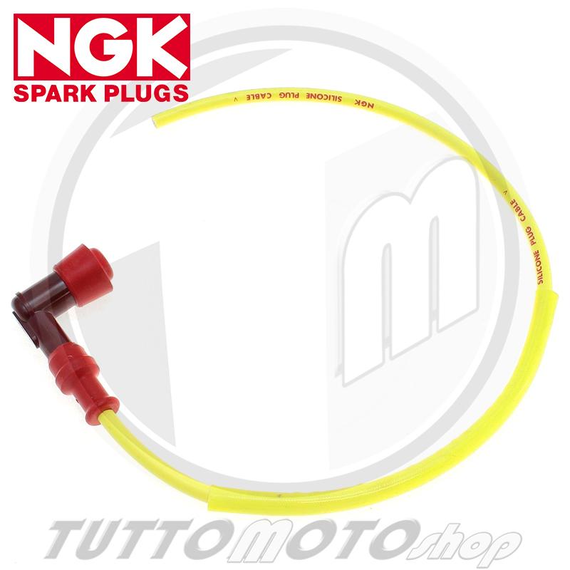NGK Cappuccio Candela Racing Completo di Cavo Schermato